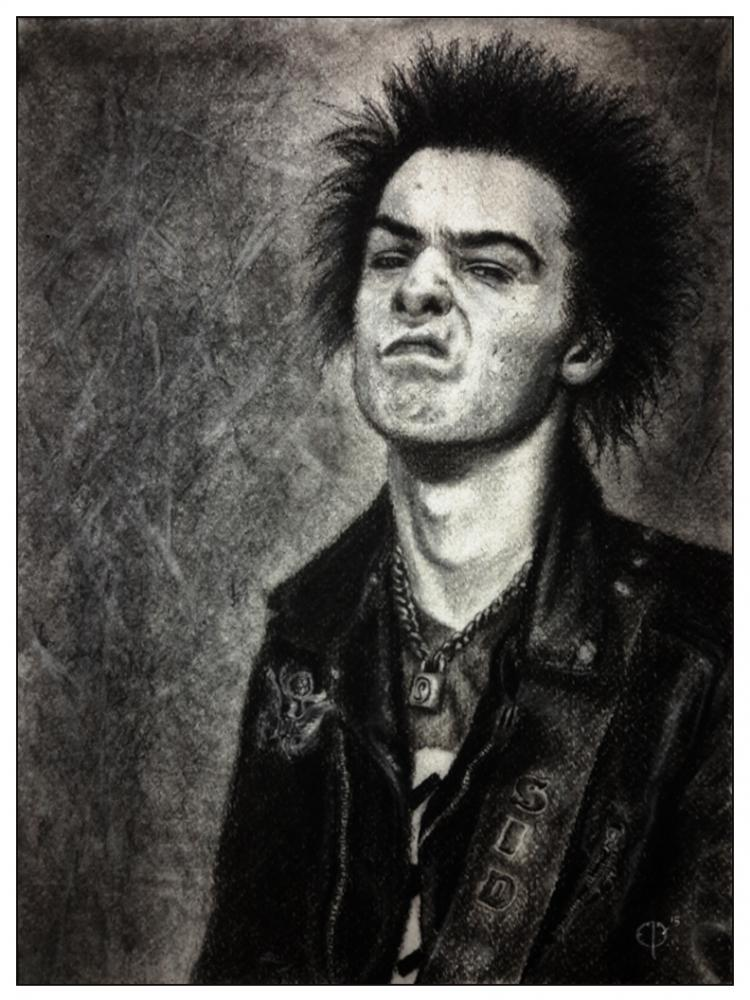 Sid Vicious by MeatRoots